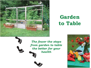 GardenToTable